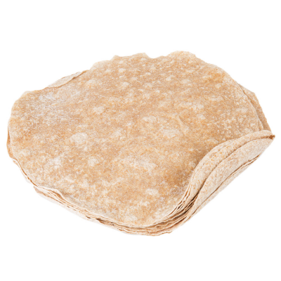 "6"" White Tortilla"